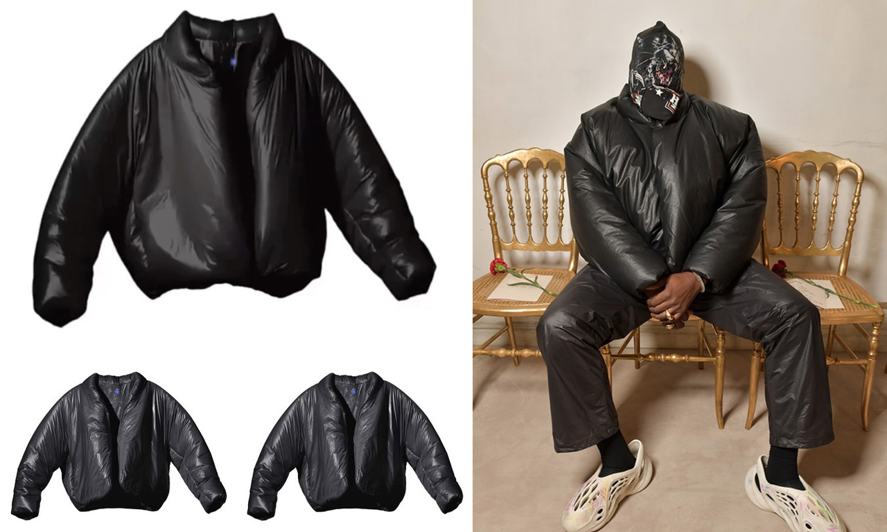 YEEZY GAP 新款黑色夹克即将开启预售