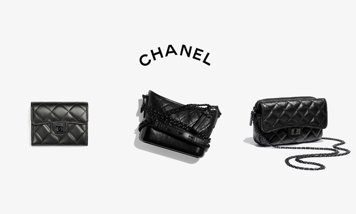 为经典款换上黑色细节,CHANEL 2021 早秋系列包袋开售