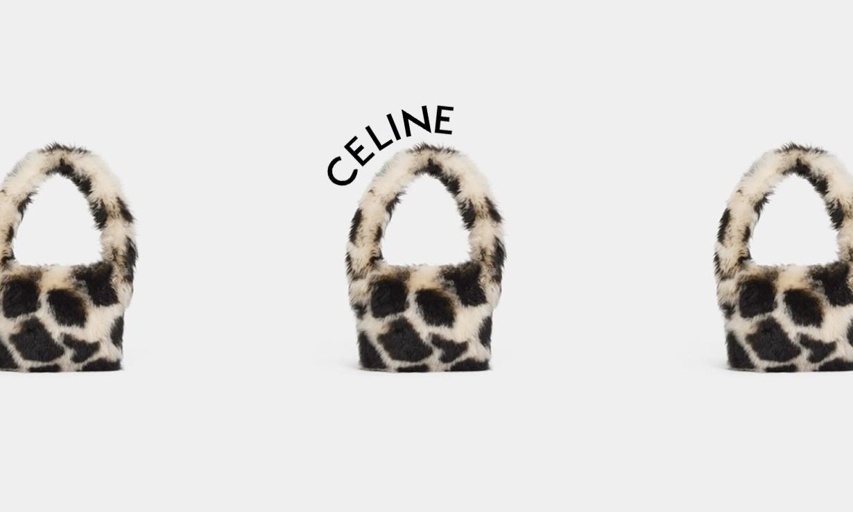CELINE Homme 上架新款毛绒材质手袋