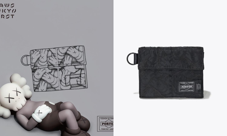 KAWS TOKYO FIRST x PORTER 限定系列即将发售