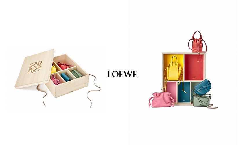 将 5 款经典包袋重新诠释,LOEWE 超迷你手袋木盒正式发售