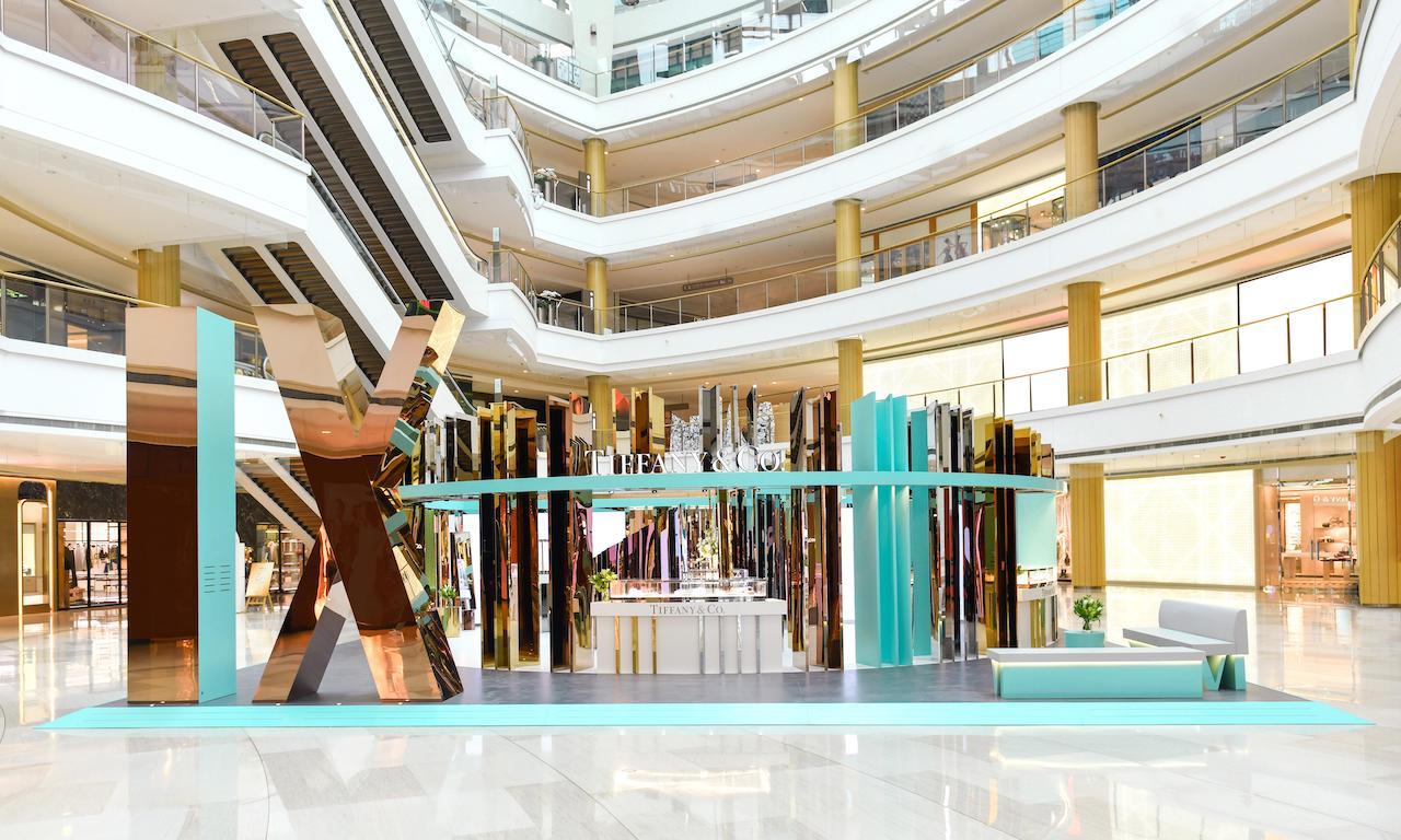 Tiffany Atlas X 系列限时精品店登陆上海恒隆广场