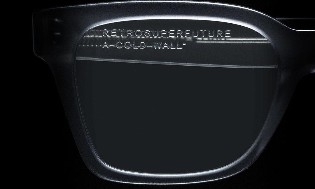 A-COLD-WALL* x RETROSUPERFUTURE 合作系列眼镜即将发售