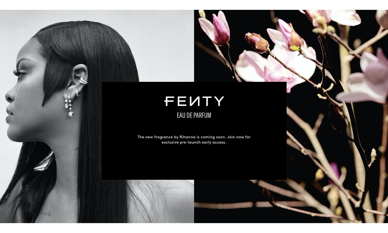 Rihanna 美妆品牌 Fenty 即将推出首款香水