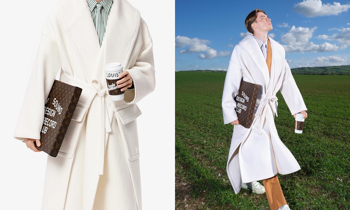 咖啡杯与披萨盒?LOUIS VUITTON 推出经典印花趣味配件