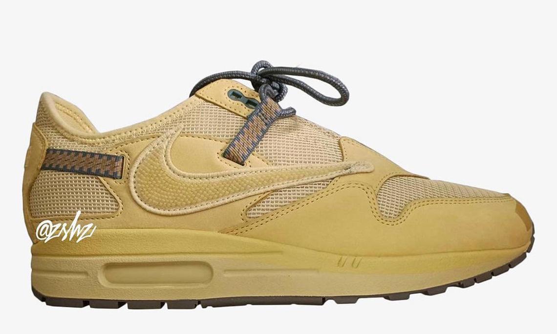 Travis Scott x Nike Air Max 1「Wheat」或将于年底发售