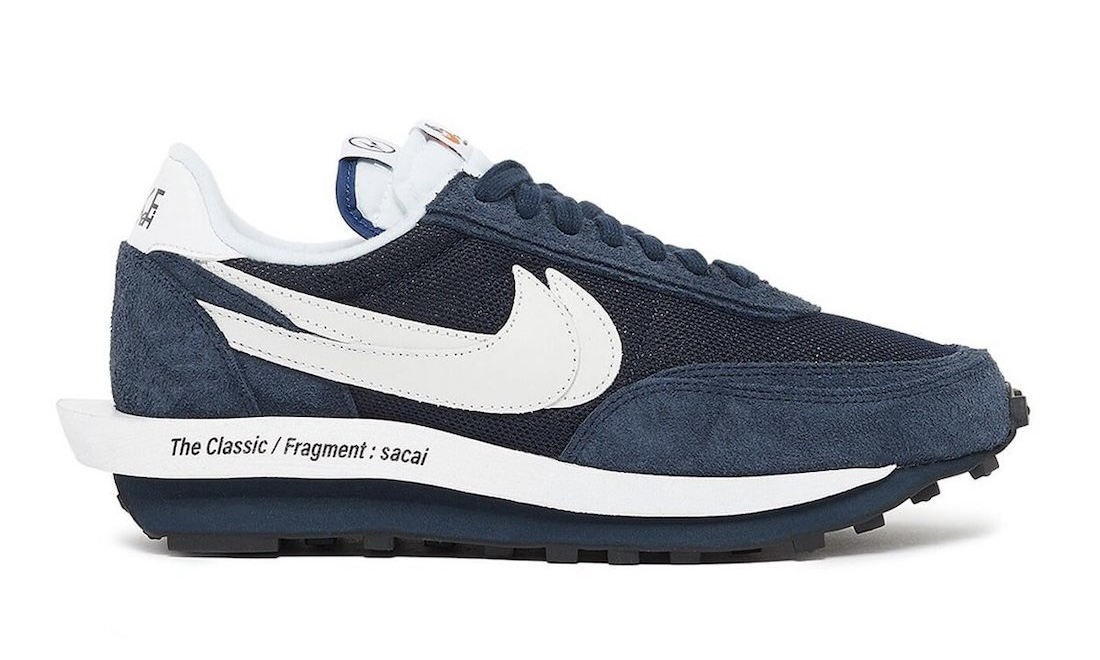 sacai x fragment design x Nike LDWaffle 发售日期确认