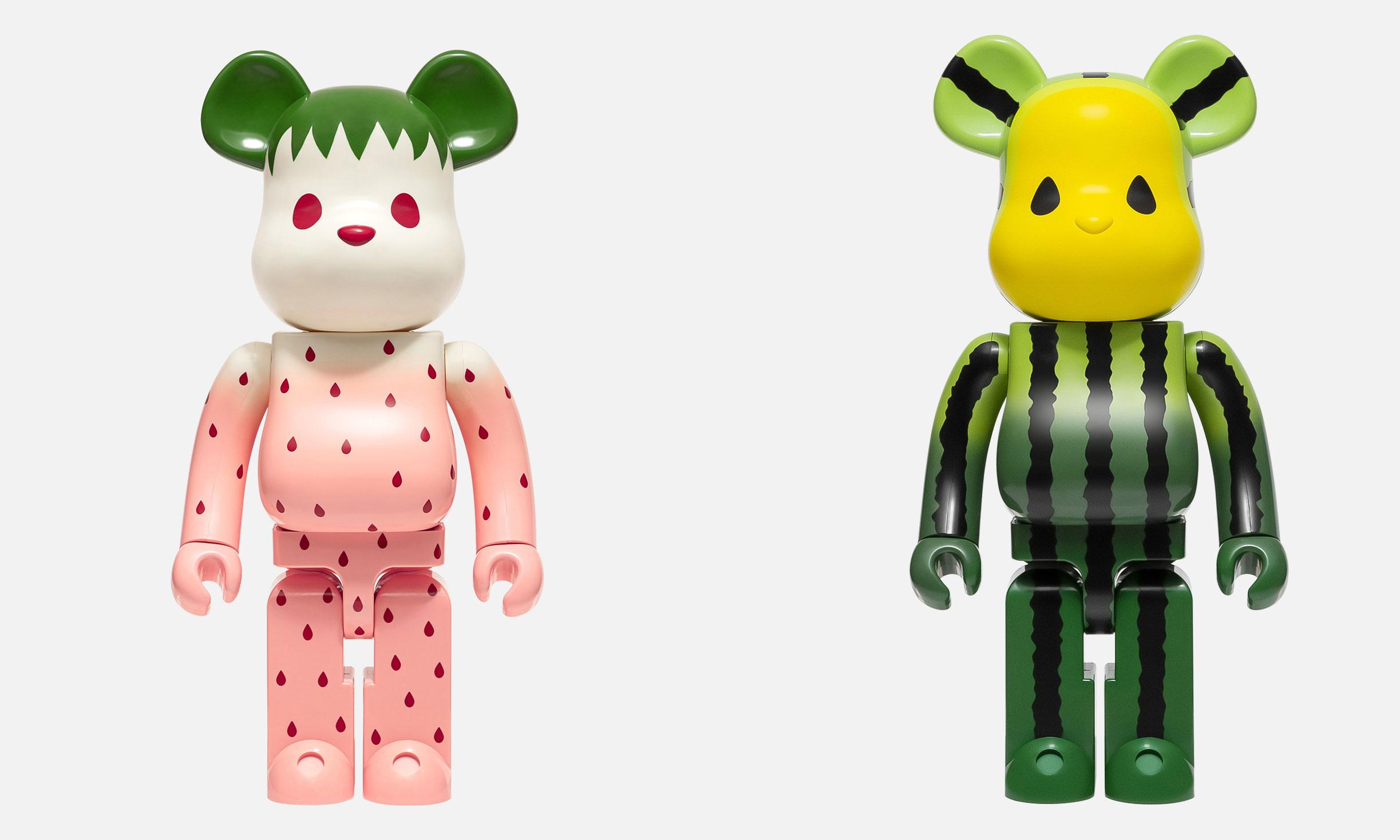 CLOT x MEDICOM TOY BE@RBRICK「Summer Fruits」全新水果系列即将发售