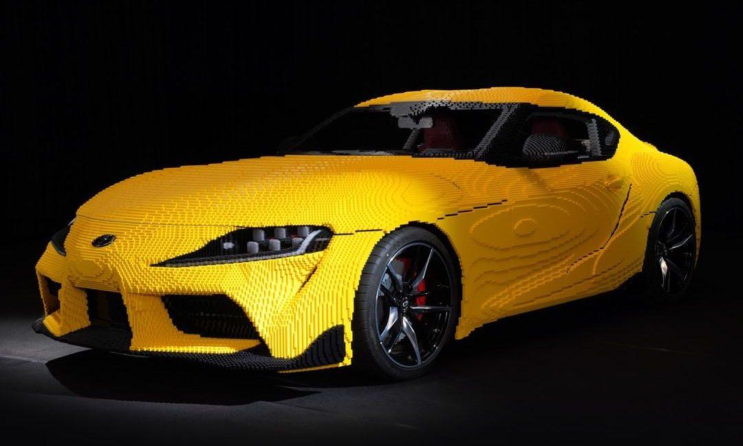 LEGO 打造 1:1 可发动 Toyota GR Supra 积木模型