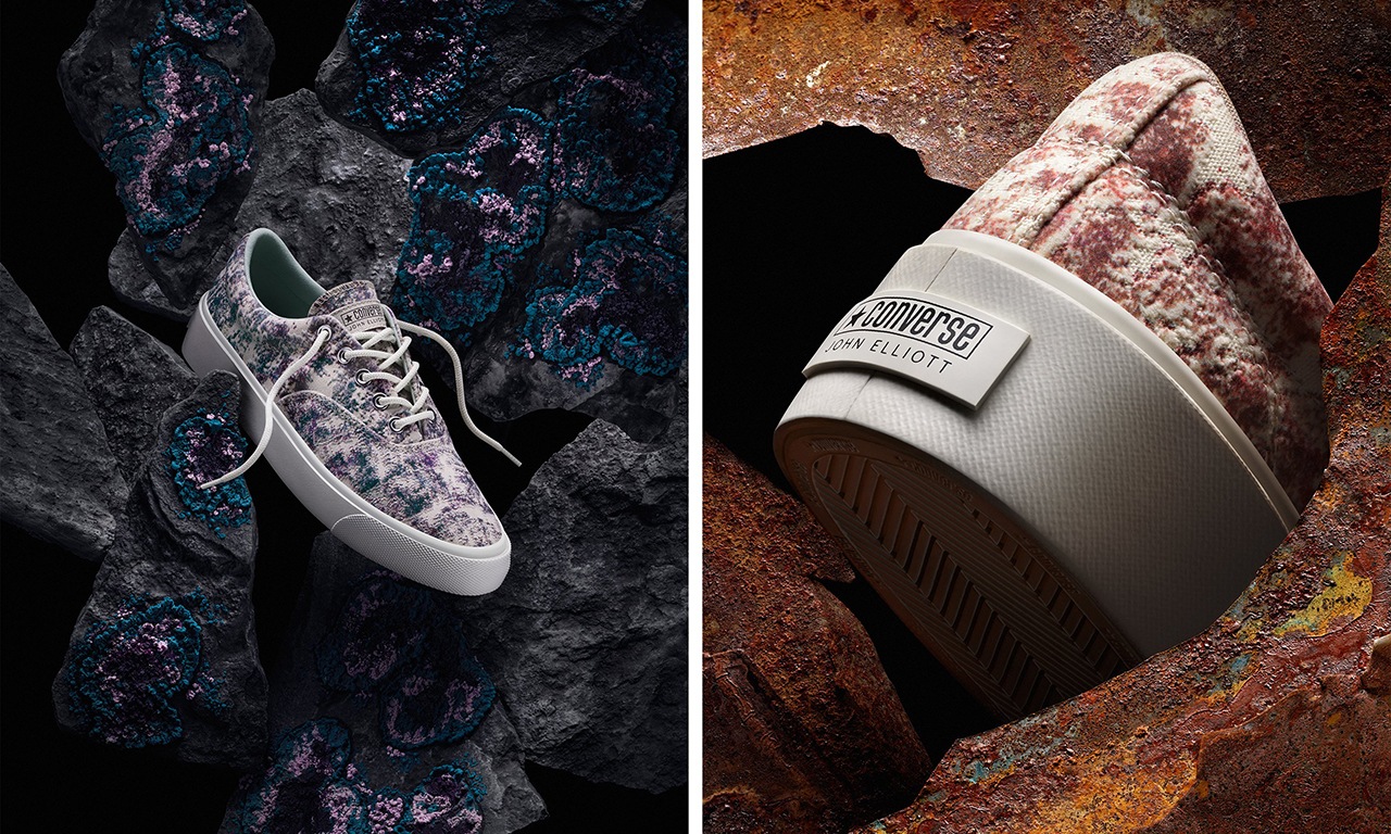 John Elliott x CONVERSE 联名鞋款系列即将推出
