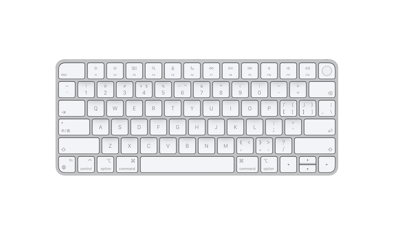 苹果上架带 Touch ID 的妙控键盘等全新配件