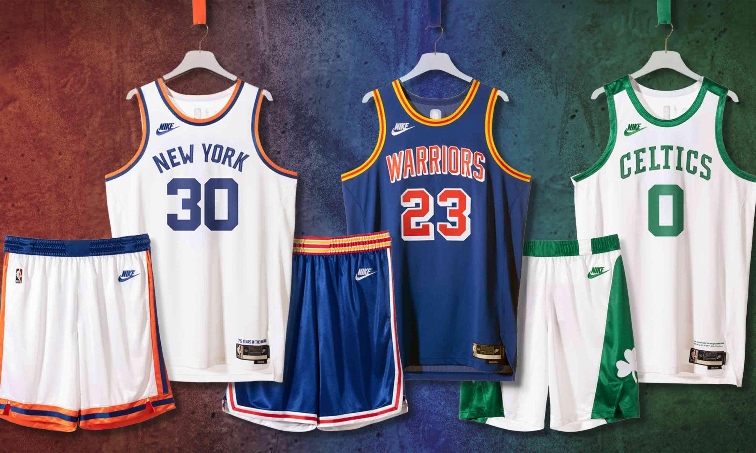 Nike 为 NBA 创立 75 周年特别打造限定复古球衣