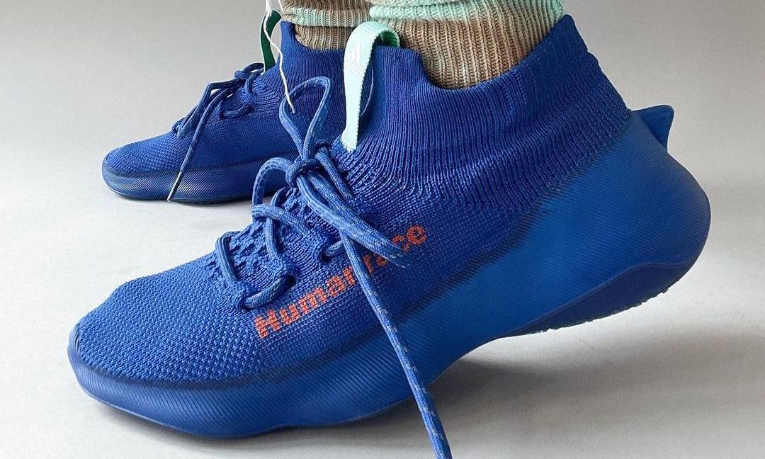 Pharrell x adidas Humanrace Sichona 蓝色版本曝光