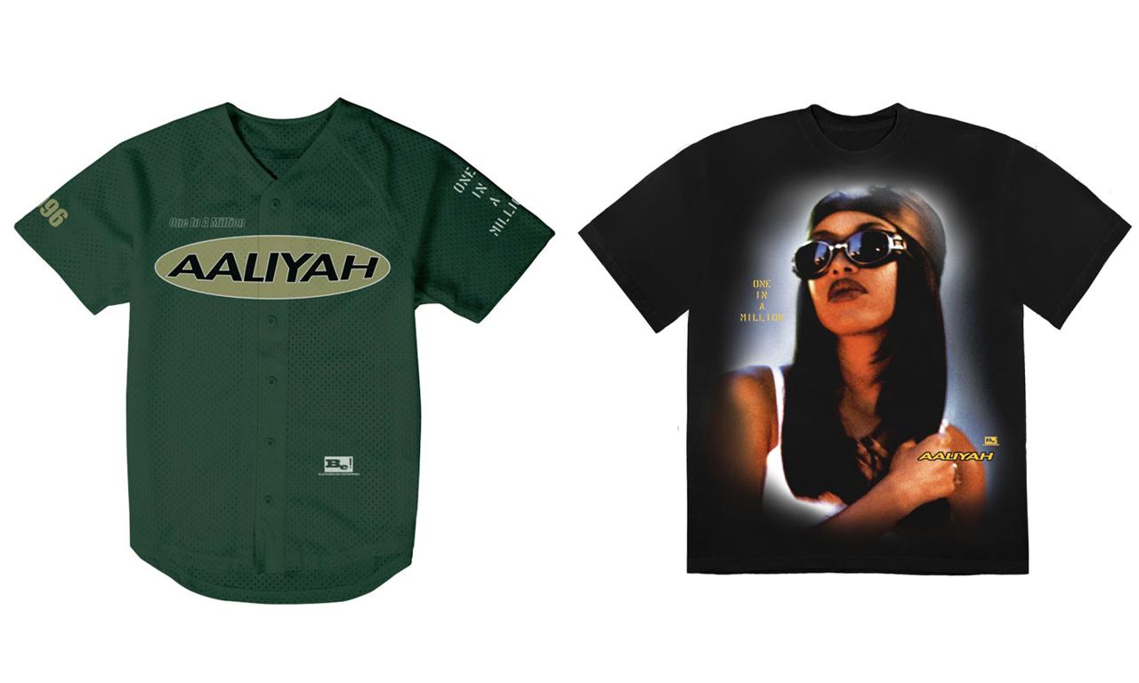 Aaliyah「One in a Million」服装系列正式推出