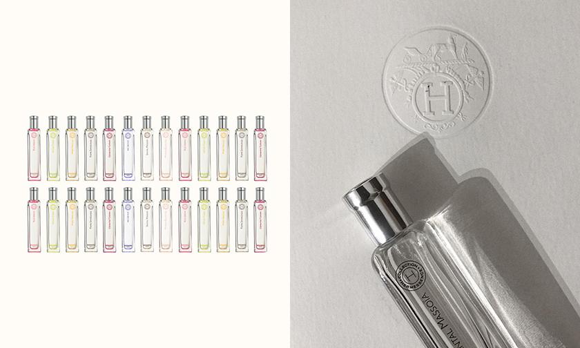 DIY 属于你的香气,Hermès 释出 Hermessence 闻香系列