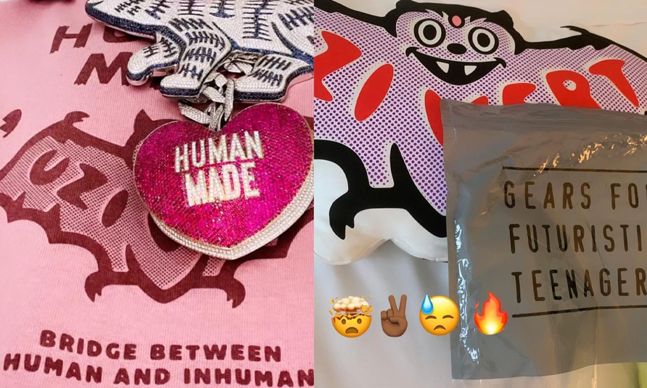 抢先预览 HUMAN MADE x Lil Uzi Vert 合作系列