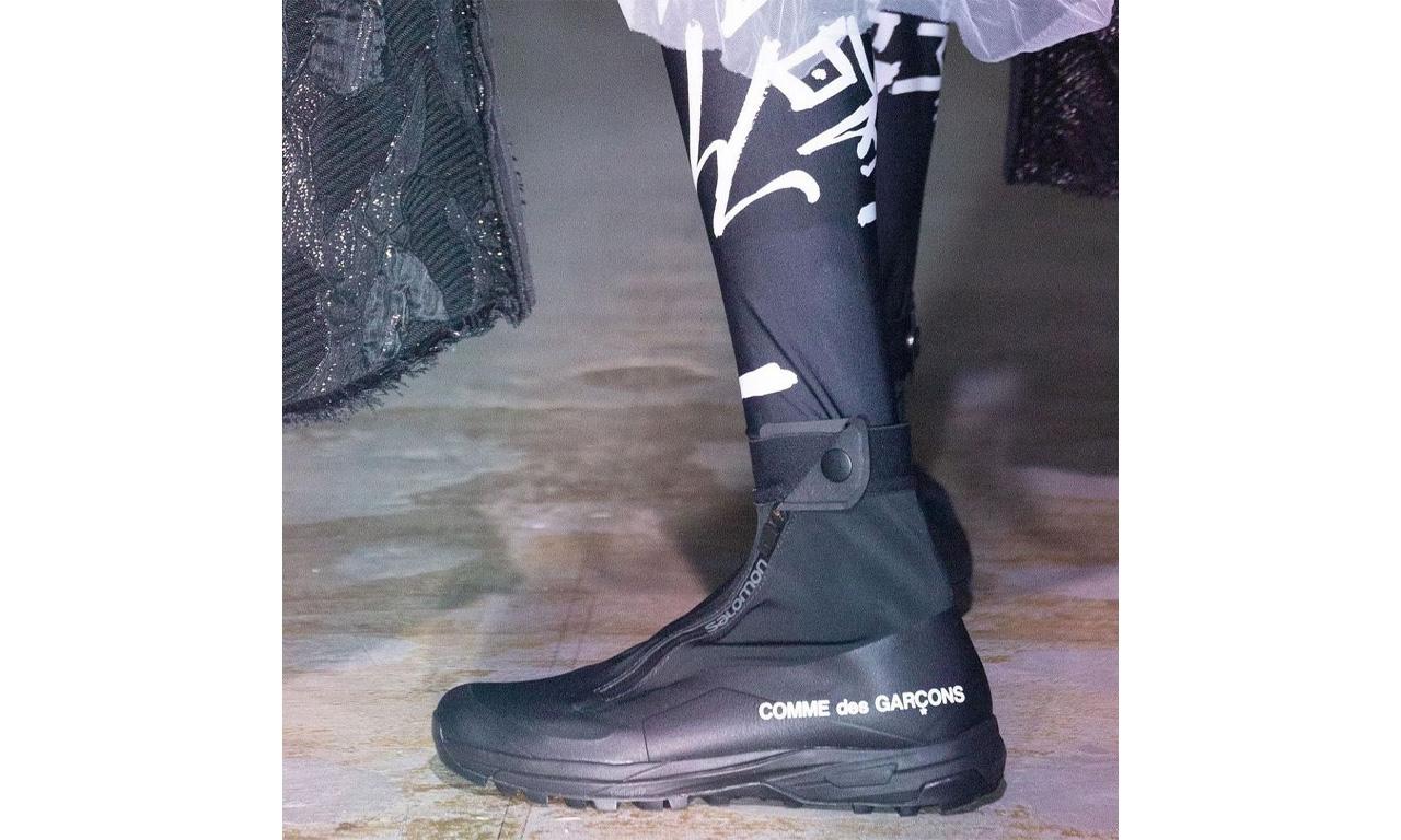 抢先预览 COMME des GARÇONS x SALOMON 联名鞋款