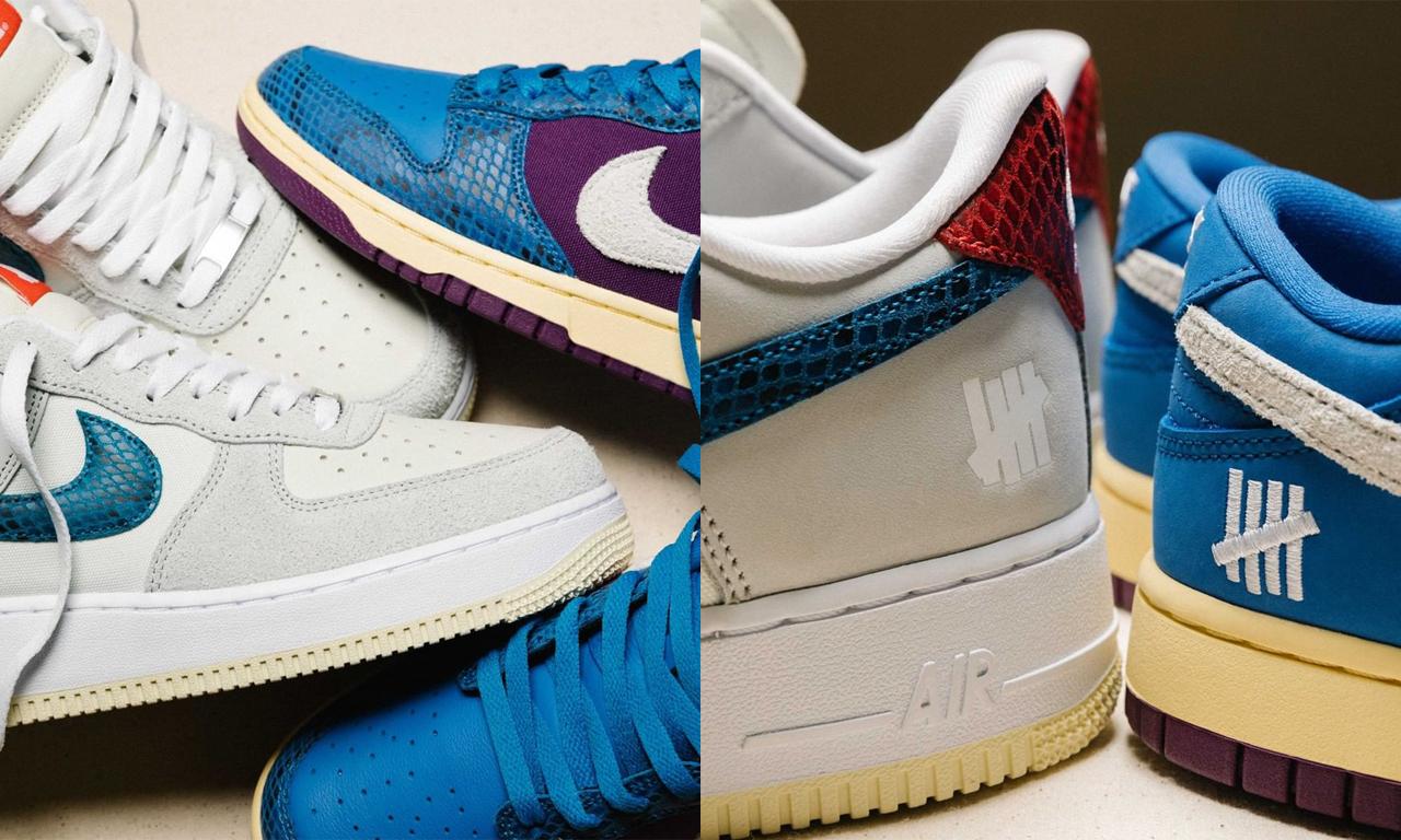 UNDEFEATED x Nike「Dunk vs. AF1」系列细节图与发售日期公布