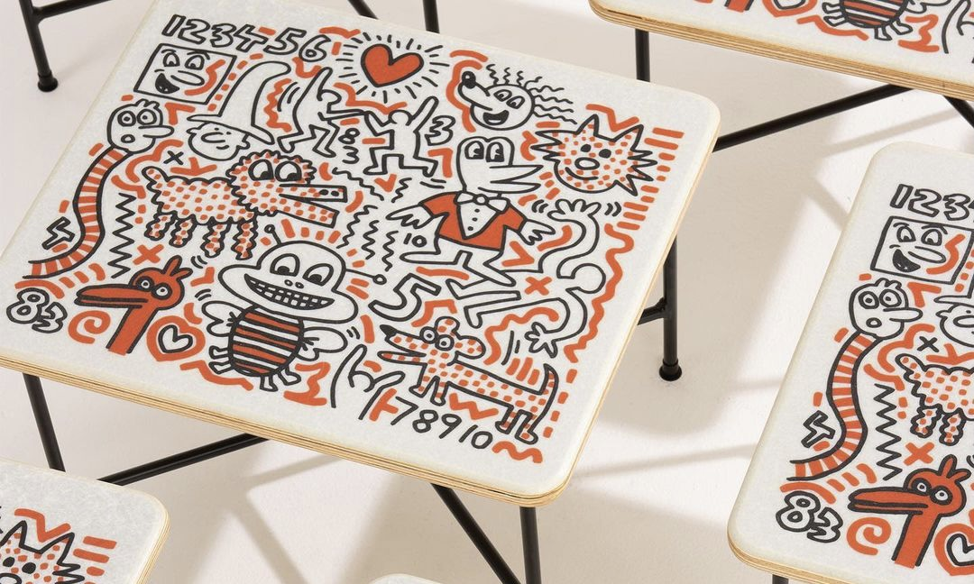 Modernica x Keith Haring 联名家具正式发售