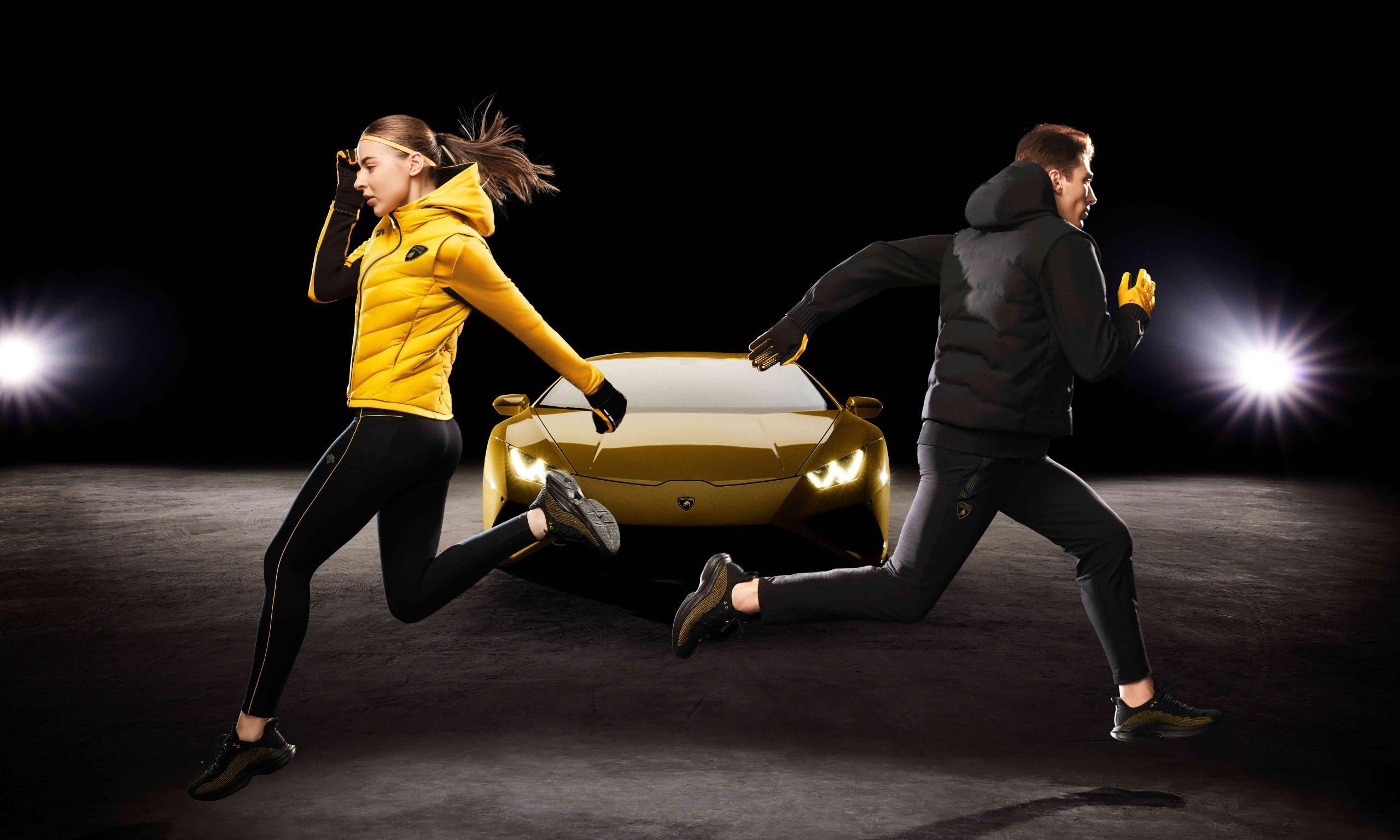 助力冬季奔跑,DESCENTE x AUTOMOBILI LAMBORGHINI 联名合作系列发布