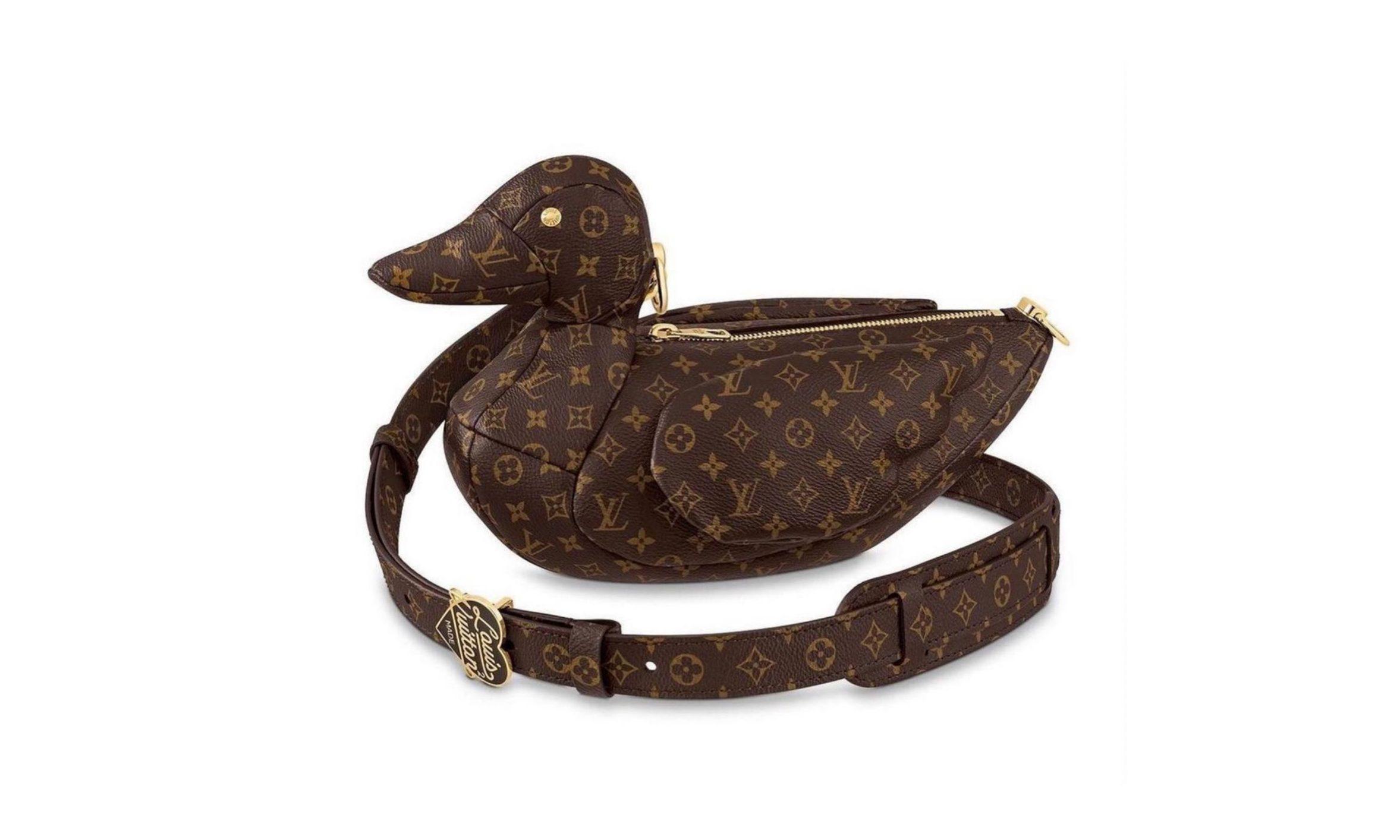 NIGO x LOUIS VUITTON 联名系列鸭子包袋 11 月发售