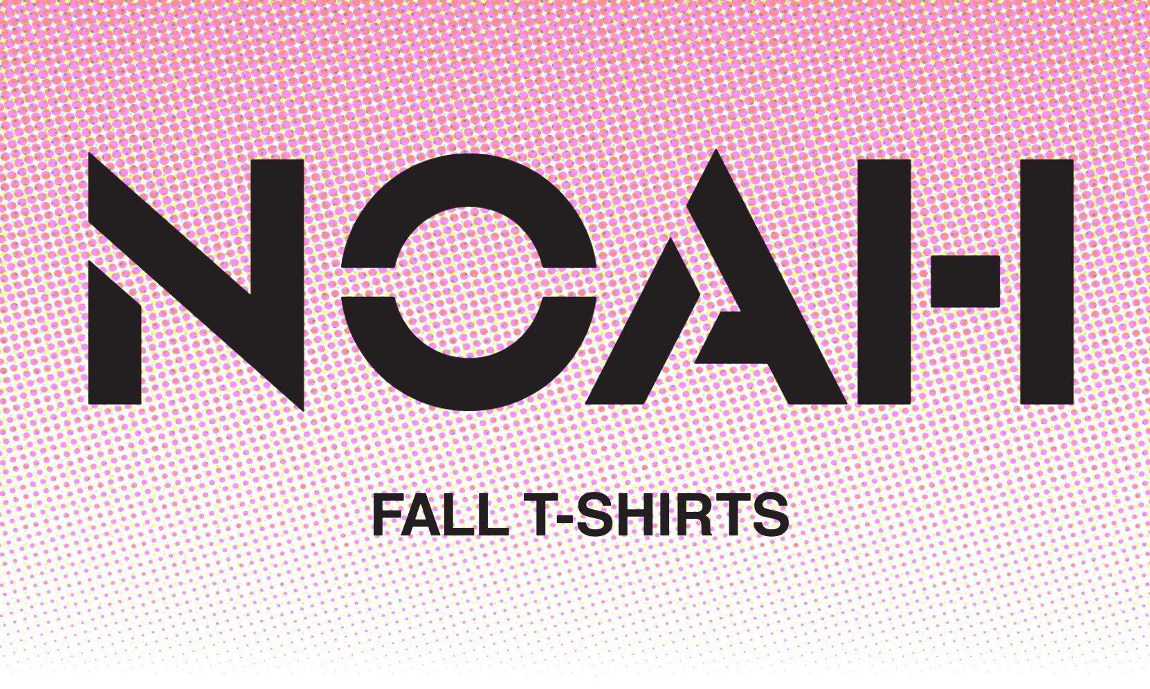 多款 T恤来袭,NOAH 2021 秋冬系列新品上架
