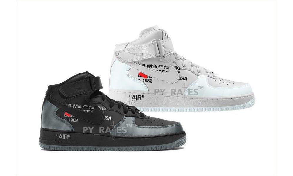 Off-White™ 将与 Nike 推出全新 Air Force 1 Mid 联名系列