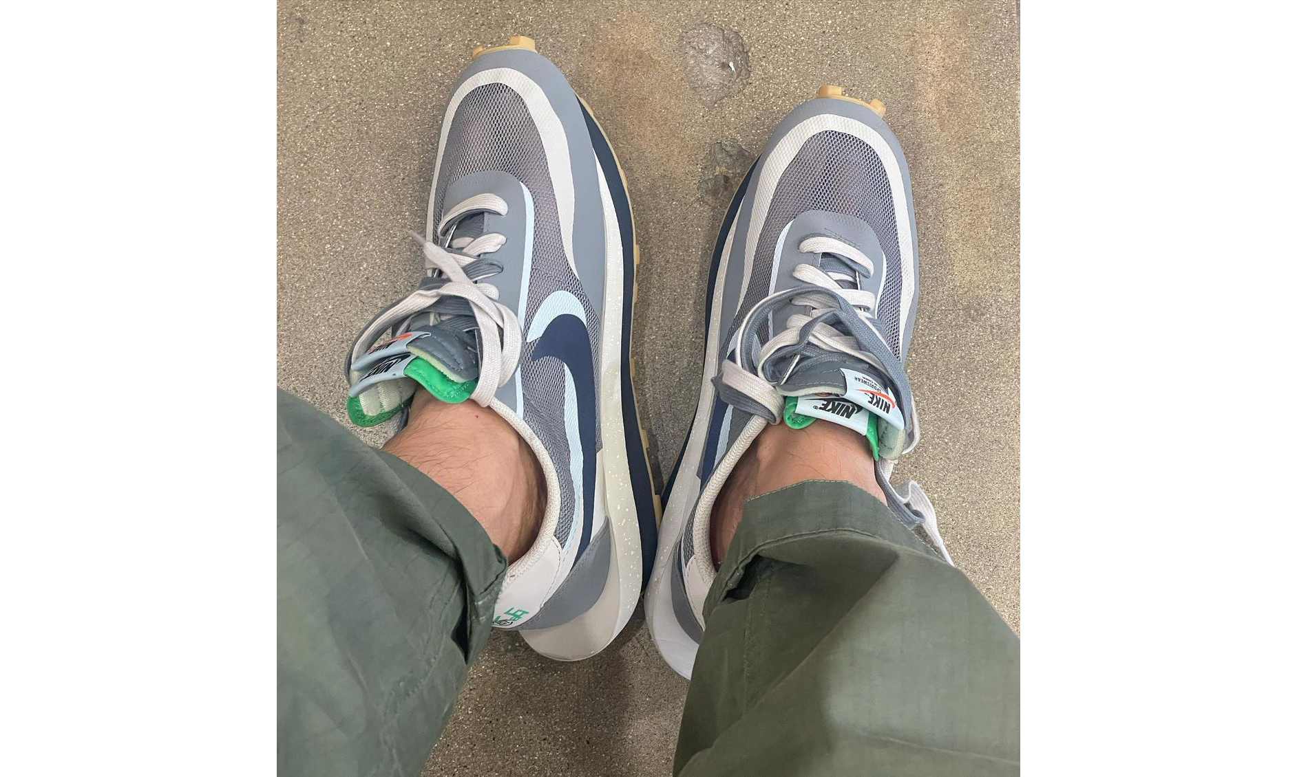 CLOT x sacai x Nike LDWaffle 第二款配色将于 10 月 7 日发售