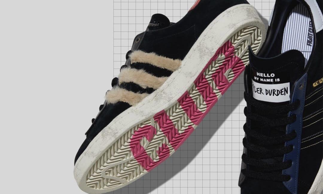 size? x adidas Originals 合作鞋款 Campus 80s「Fight Club」