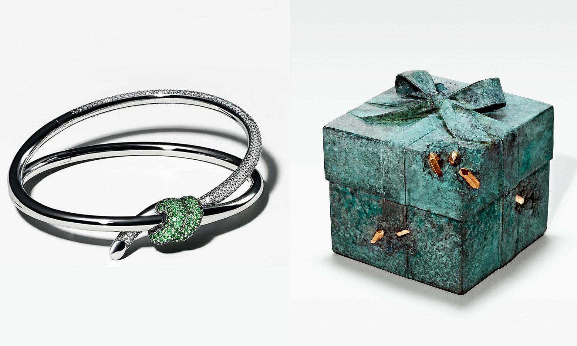 Daniel Arsham x Tiffany & Co. 首款限量珠宝亮相