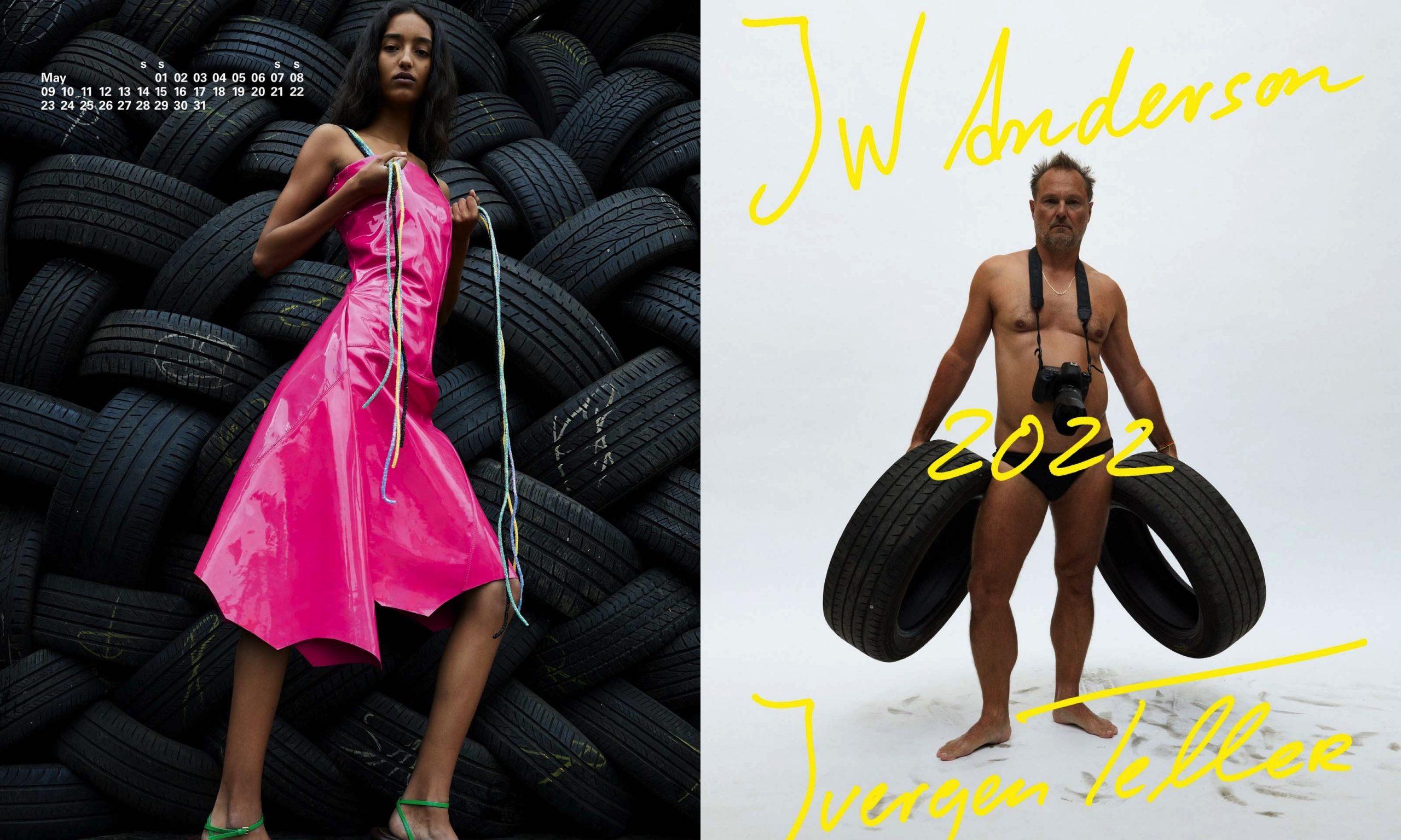 复古玩味!JW Anderson 2022 春夏系列以日历形式释出