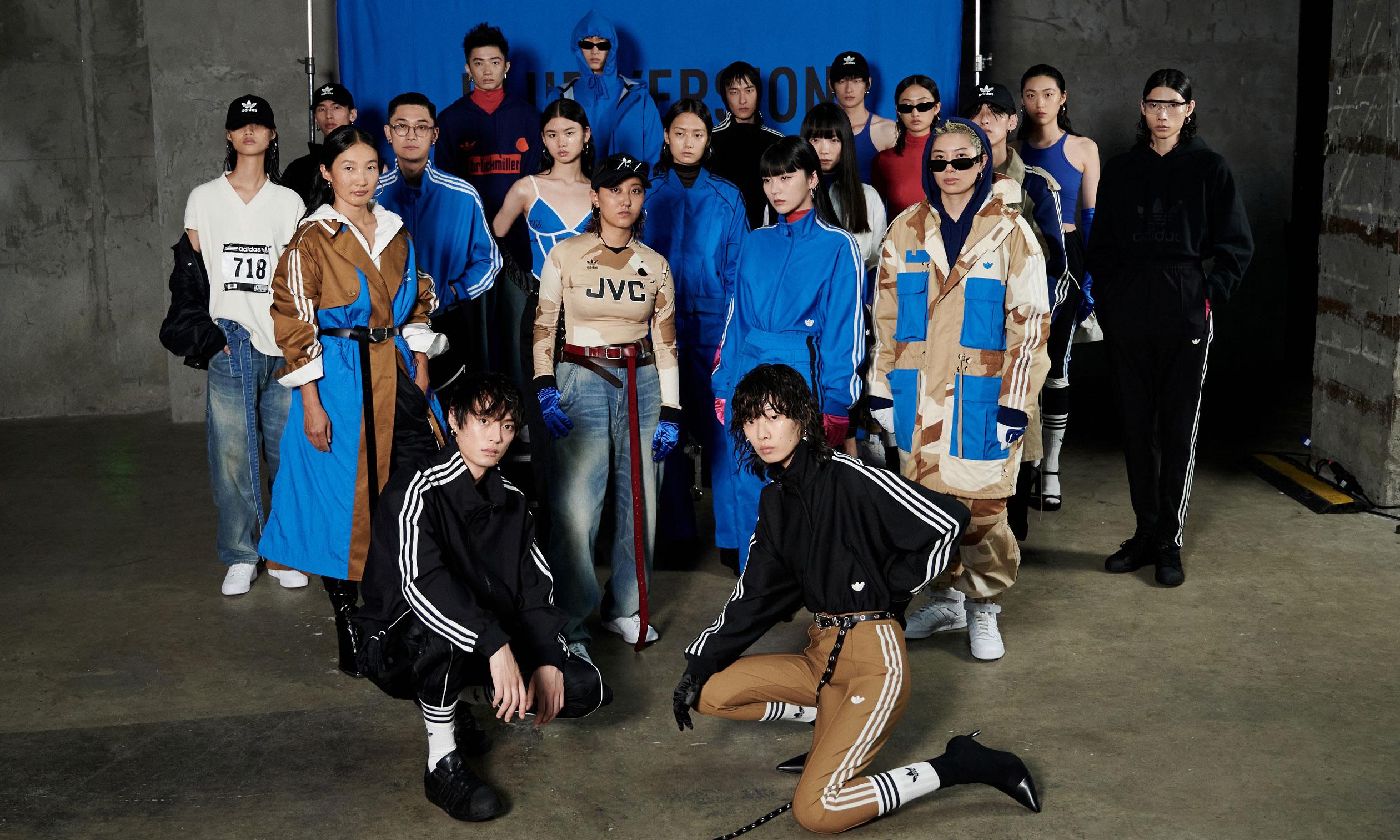 adidas Originals 呈现 Blue Version 系列时装秀