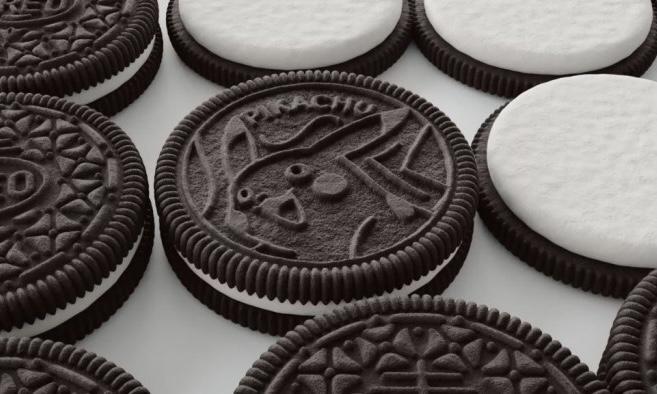 Oreo x Pokemon 合作推出宝可梦角色饼干