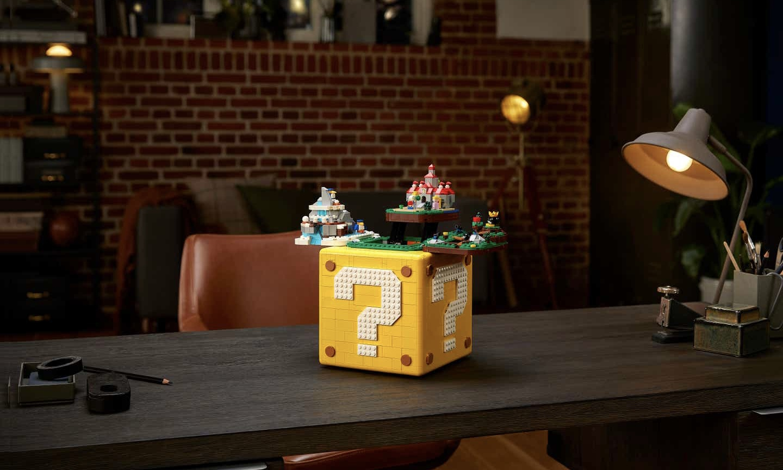 LEGO 联动任天堂推 Super Mario 64 主题套装
