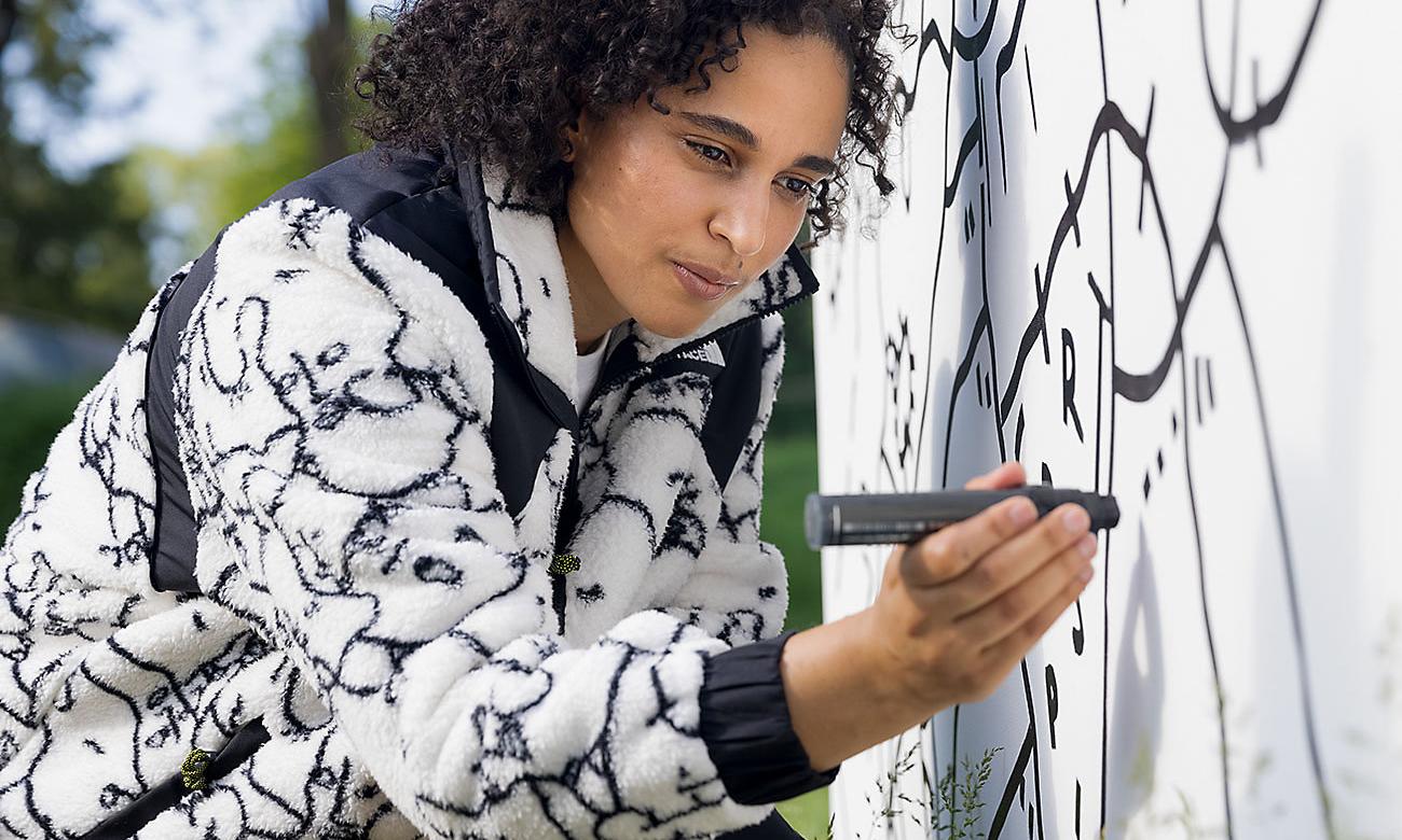 THE NORTH FACE 与艺术家 Shantell Martin 合作推出全新系列