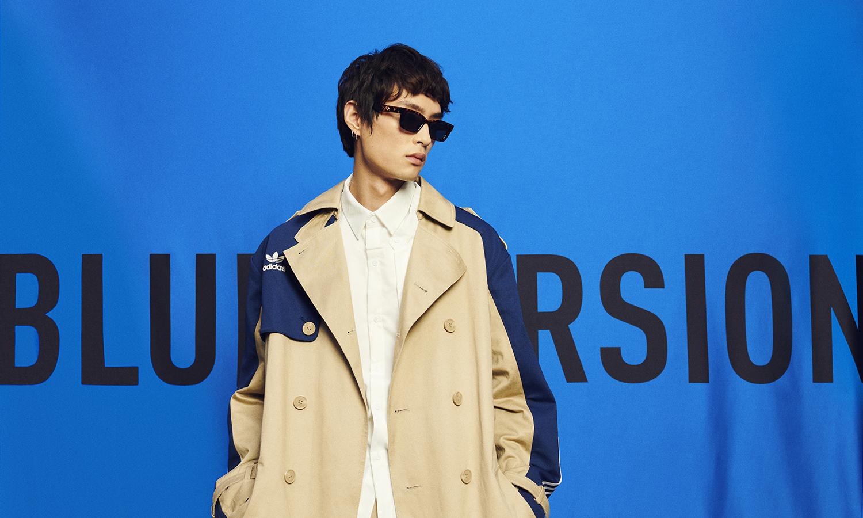 向蓝色致敬,adidas Originals 推出品牌首个 Blue Version 系列