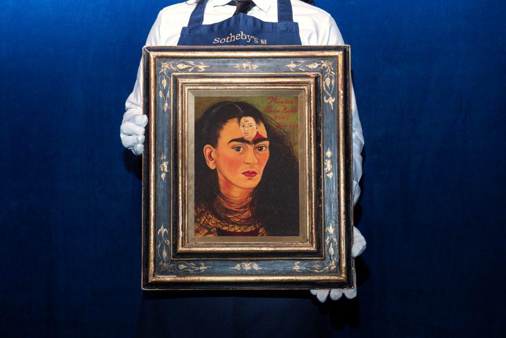 Frida Kahlo 自画像拍卖价格有望打破女艺术家作品拍卖记录