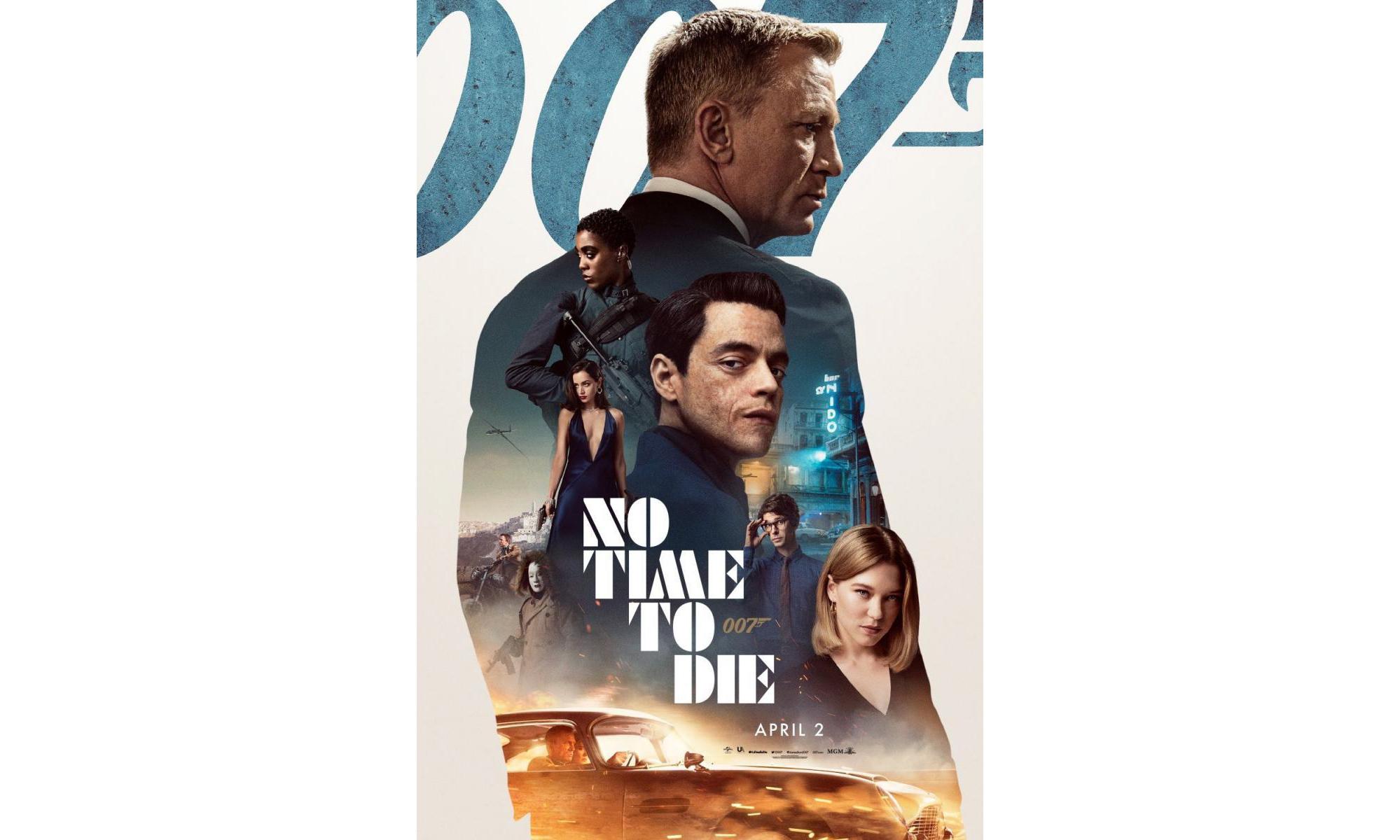 《007:无暇赴死》终极预告片正式发布