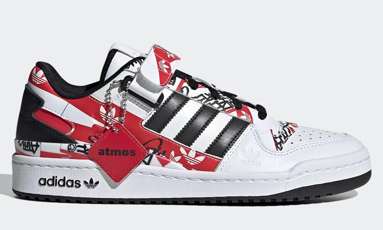 atmos x adidas Originals Forum Low「Graffiti」鞋款亮相