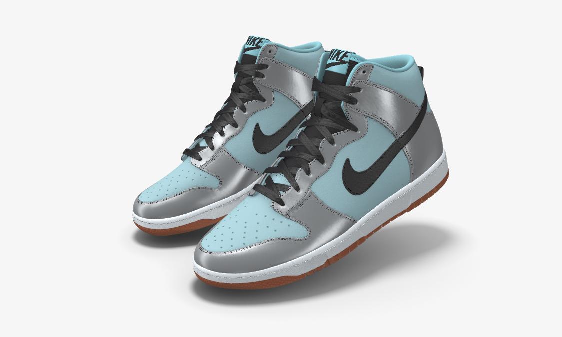 Nike Dunk High By You 上架中国区 Nike App