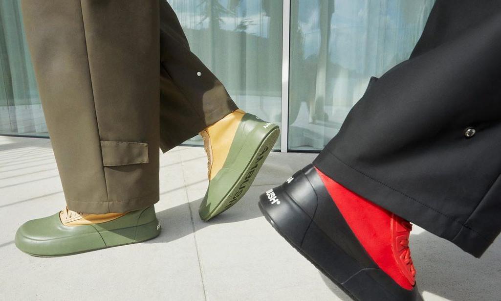 AMBUSH 最新皮质高筒靴发布