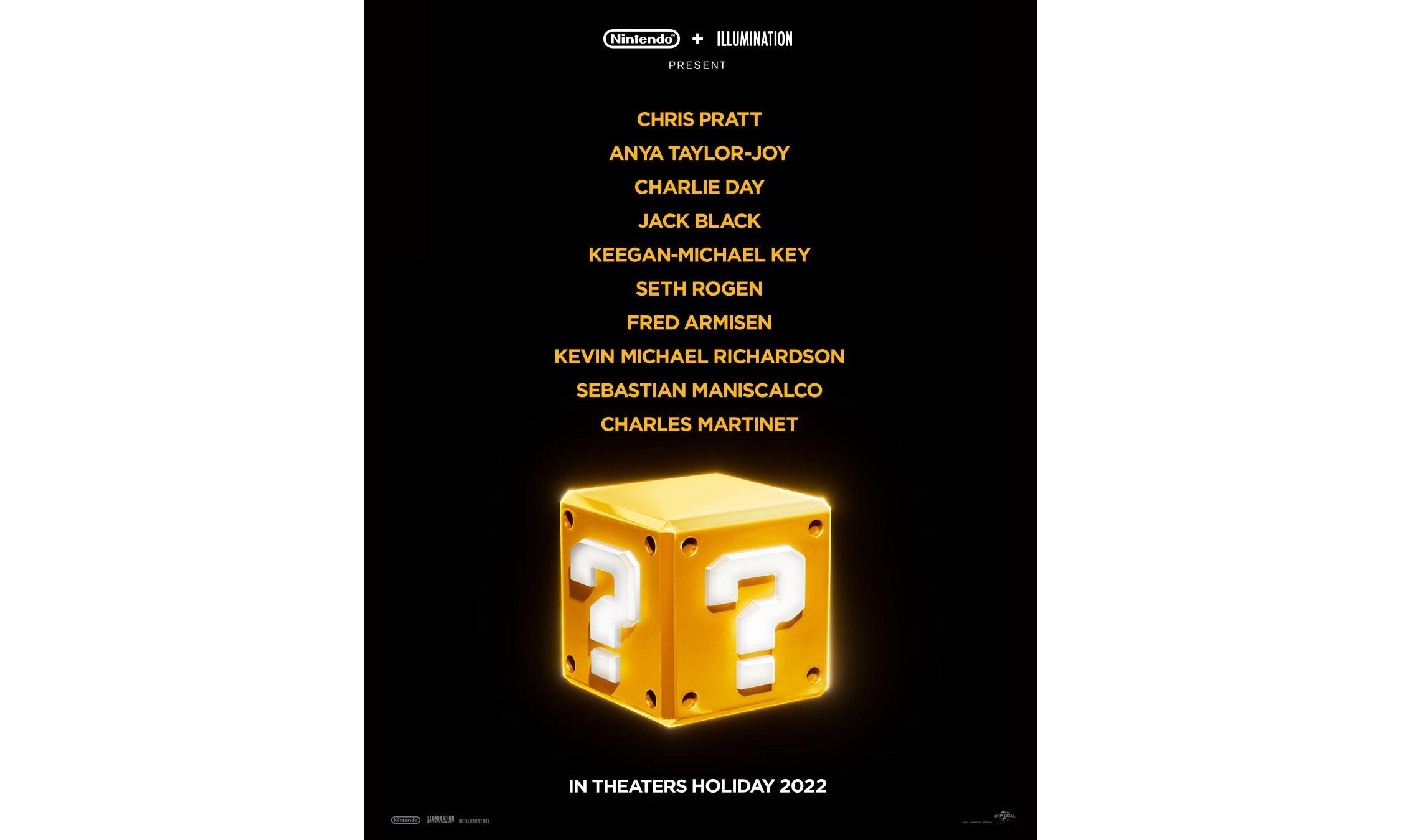 《马里奥》CG 动画电影今年 12 月上映,「星爵」配音马里奥