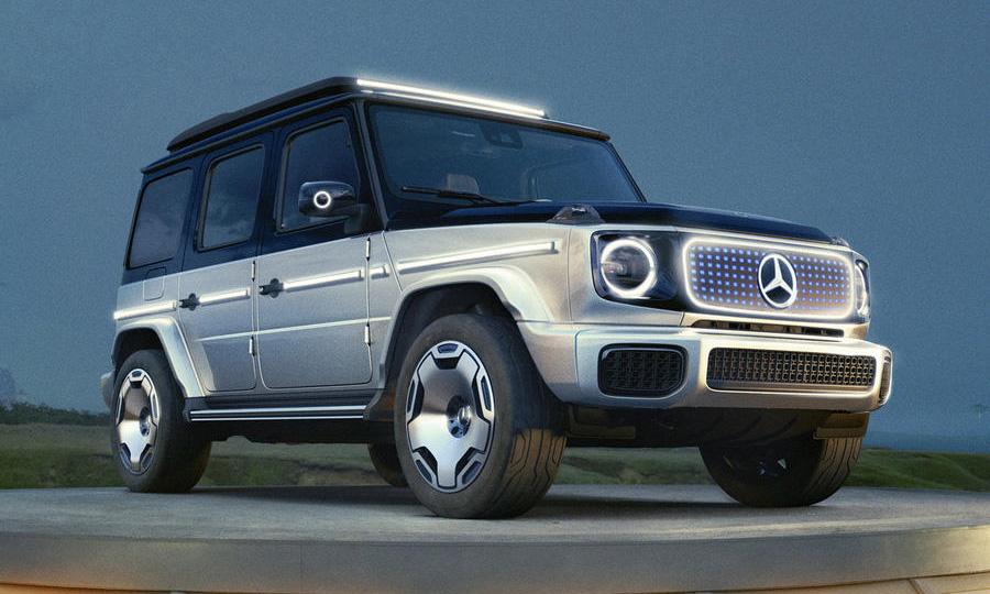 Mercedes-Benz 电动版 G-Class 概念车型 EQG 亮相