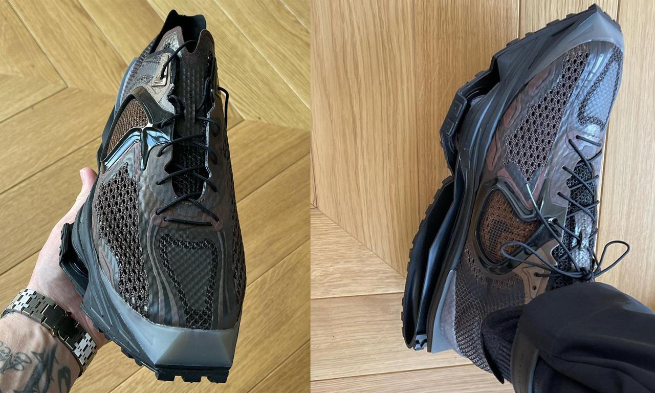 Matthew M Williams 亲晒新款 Nike Zoom MMW 4