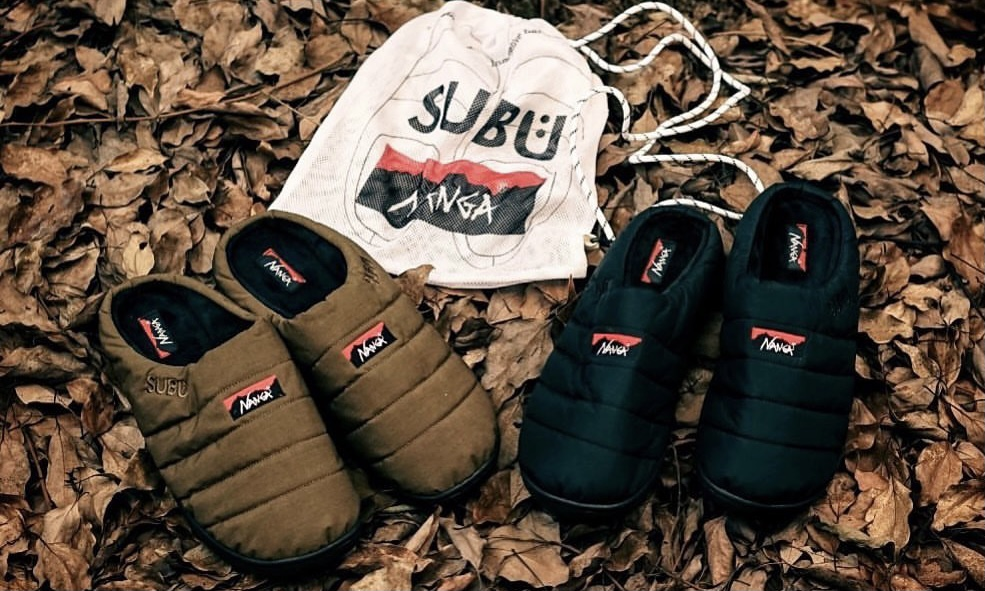 NANGA 携手 SUBU 打造全新冬季凉鞋系列
