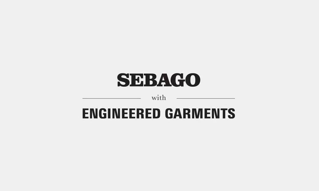 Engineered Garments 再度携手 Sebago 打造合作系列鞋款