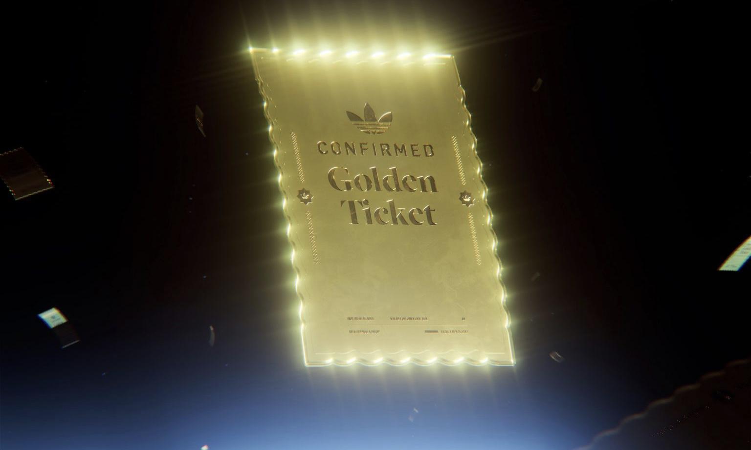 adidas Originals 推出「GOLDEN TICKET」活动