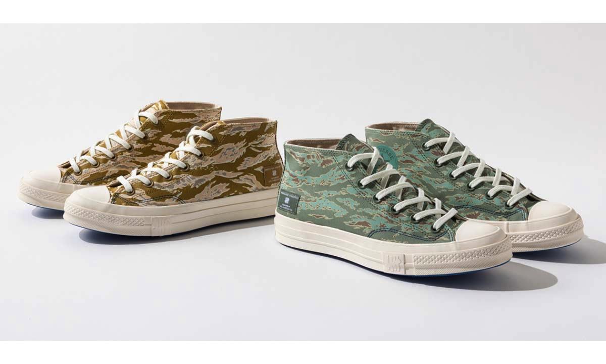 CONVERSE 携手 UNDEFEATED 呈献全新HALF CHUCK 70鞋款
