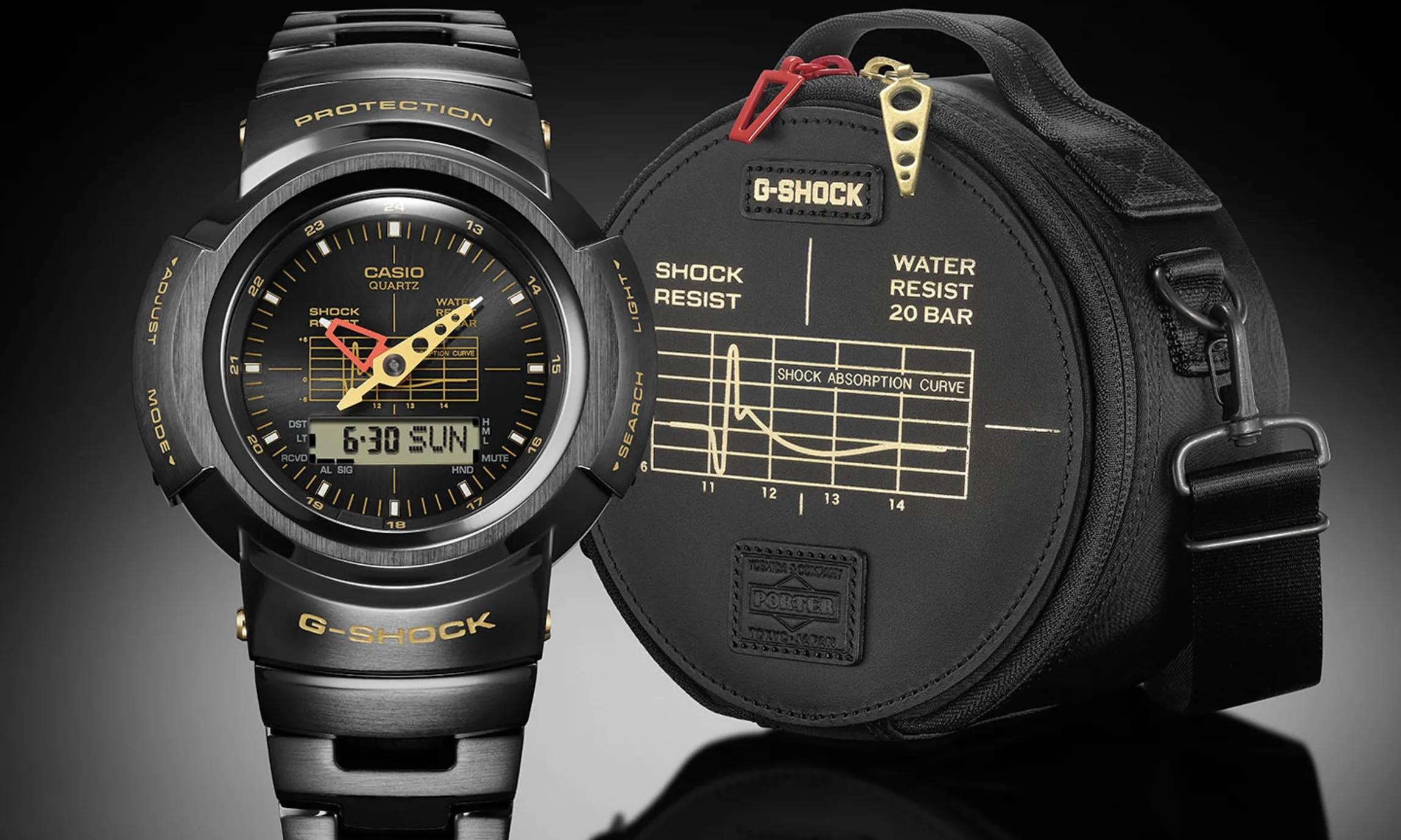 PORTER 与 G-SHOCK 合作推出限量版腕表