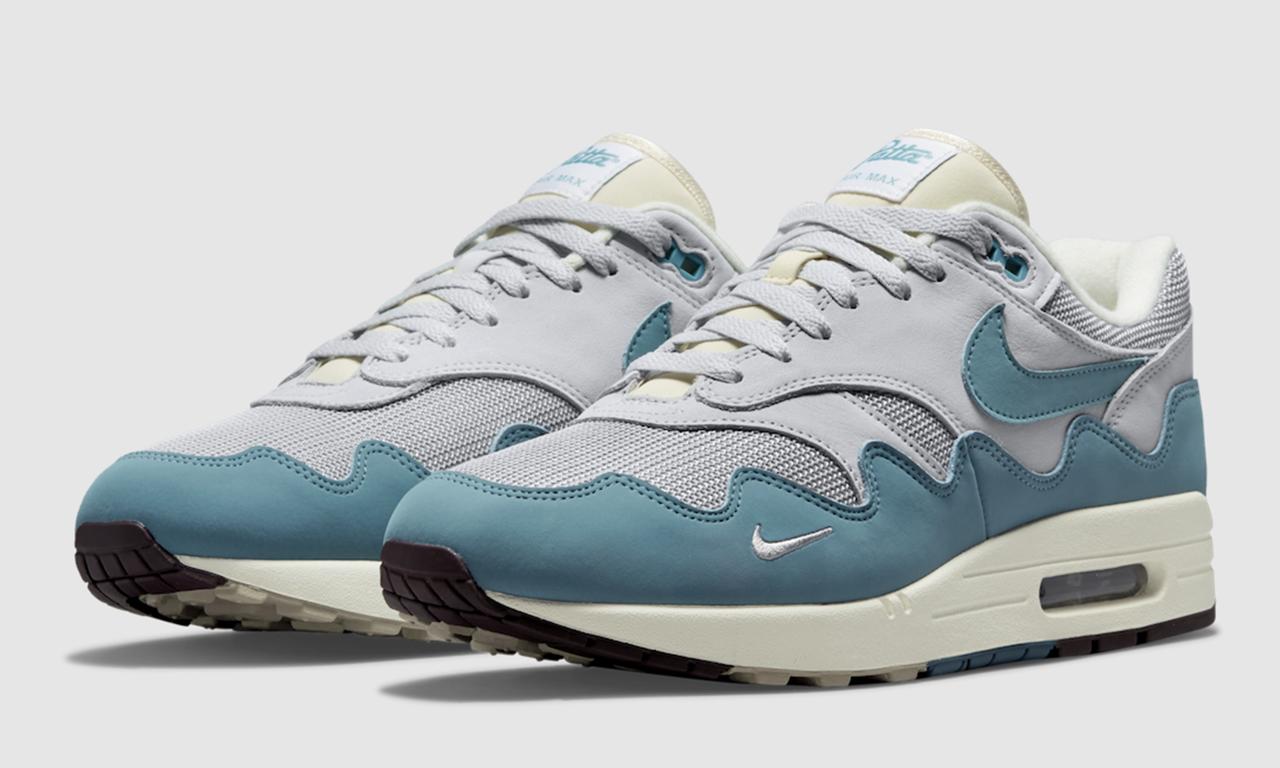 Patta x Nike Air Max 1「Noise Blue」即将发售